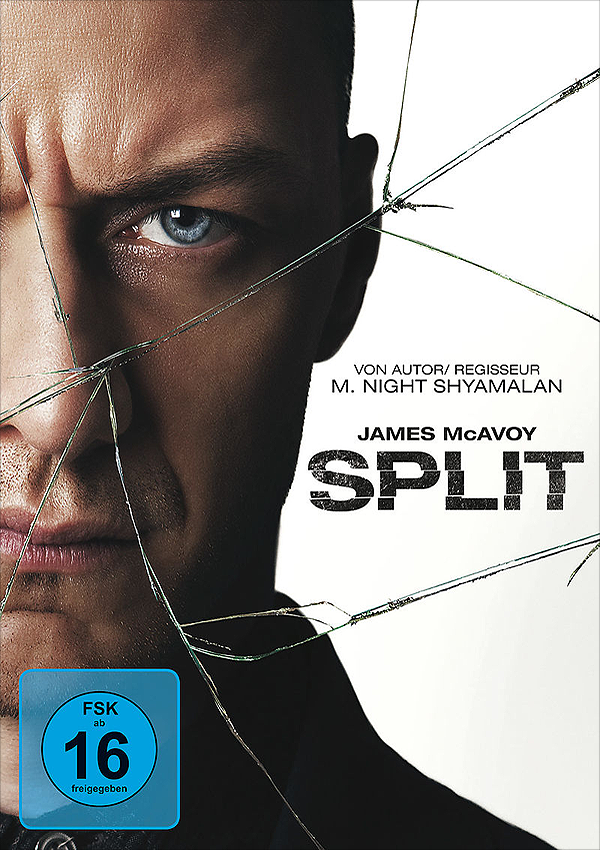 Split - Blu-ray DVD Cover FSK 16