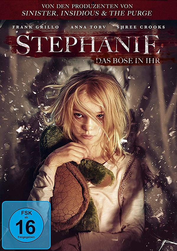 Stephanie - Blu-ray DVD Cover FSK 16