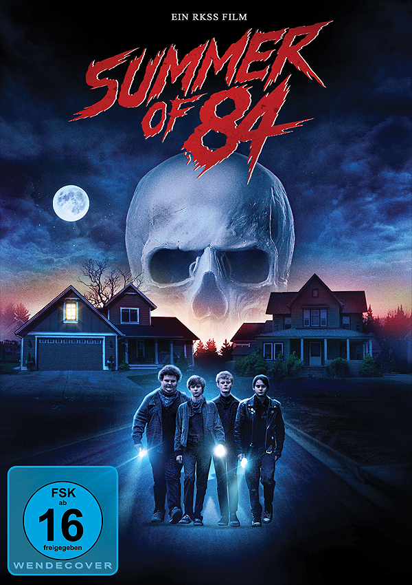 Summer of 84 - Blu-ray DVD Cover FSK 16