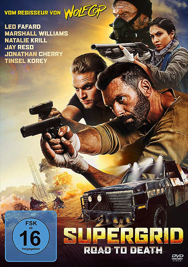 SuperGrid - DVD Blu-ray Cover FSK 16