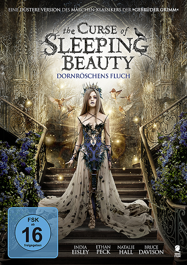 The Curse of Sleeping Beauty - Blu-ray DVD Cover FSK 16