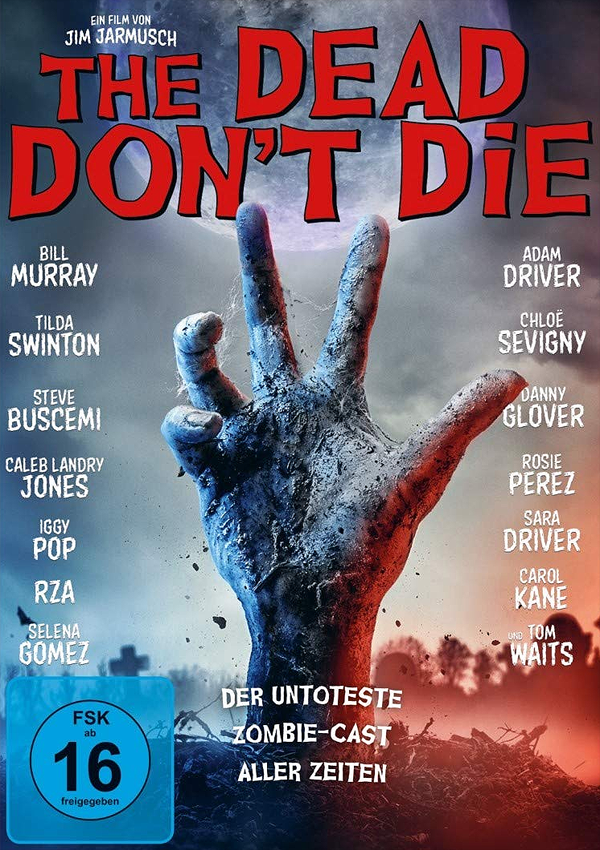 The Dead Don't Die - DVD Blu-ray Cover FSK 16