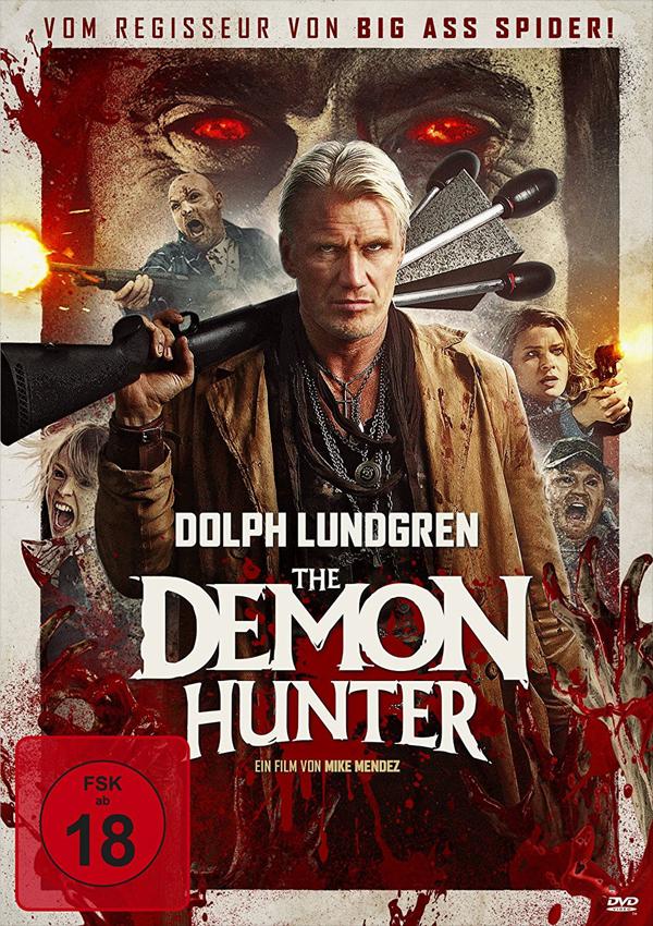 The Demon Hunter - Blu-ray DVD Cover FSK 18