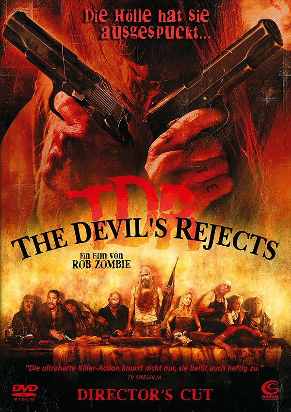 The Devil's Rjects - Blu-ray DVD Cover FSK 18