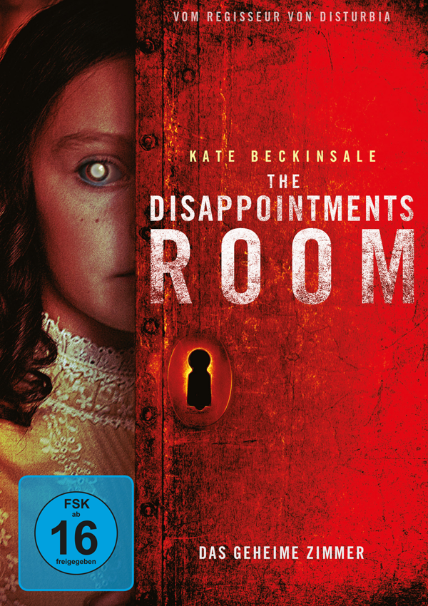The Disappointments Room - DVD Blu-ray Cover FSK 16
