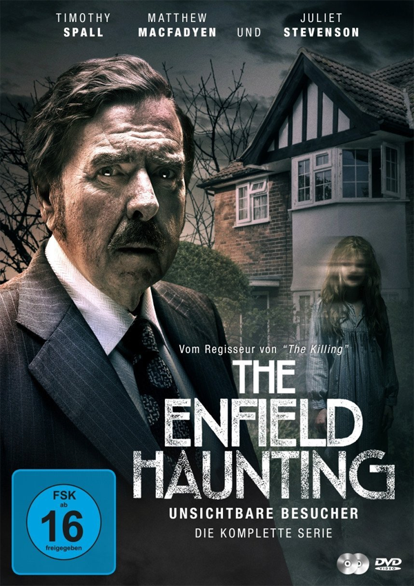 The Enfield Haunting - DVD Blu-ray Cover FSK 16