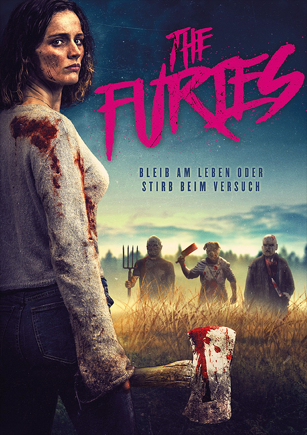 The Furies - DVD Blu-ray Cover FSK 18