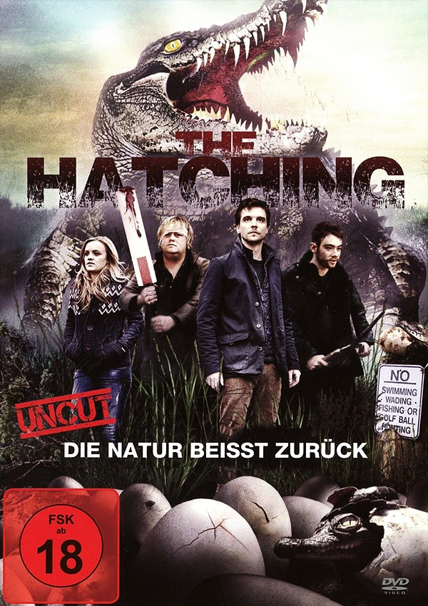 The Hatching - Blu-ray DVD Cover FSK 18