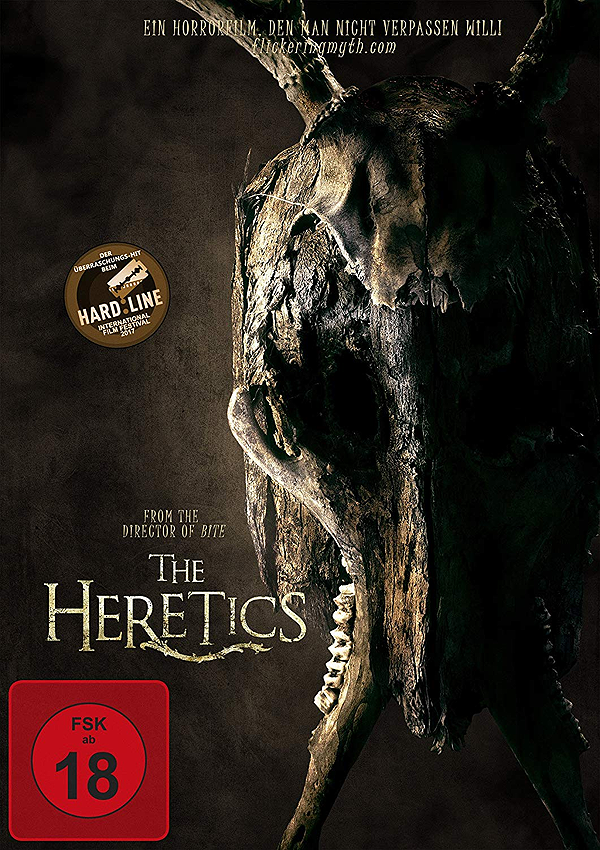 The Heretics - Blu-ray DVD Cover FSK 16