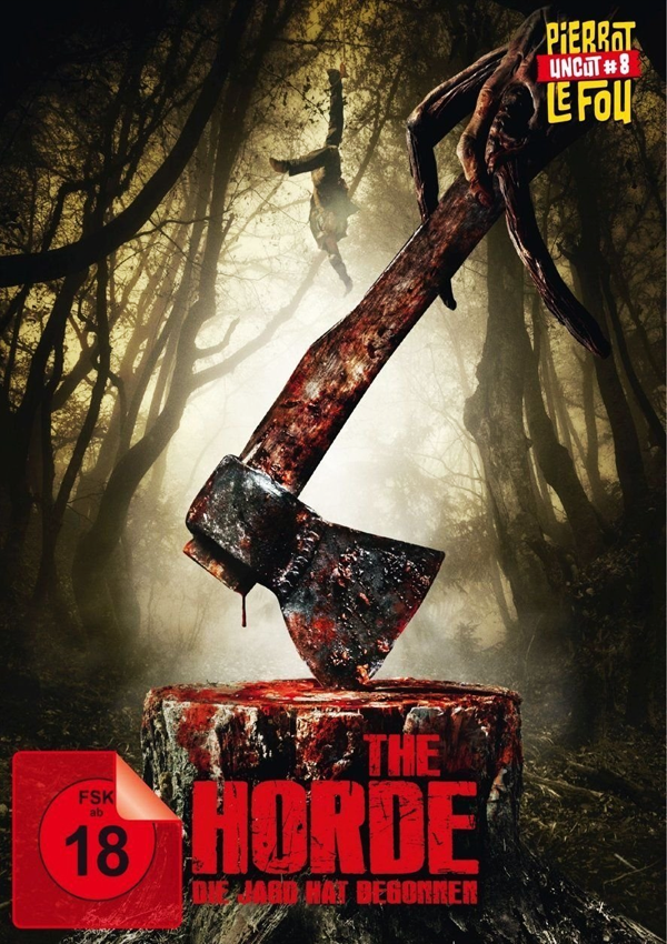 The Horde - DVD Blu-ray Cover FSK 18
