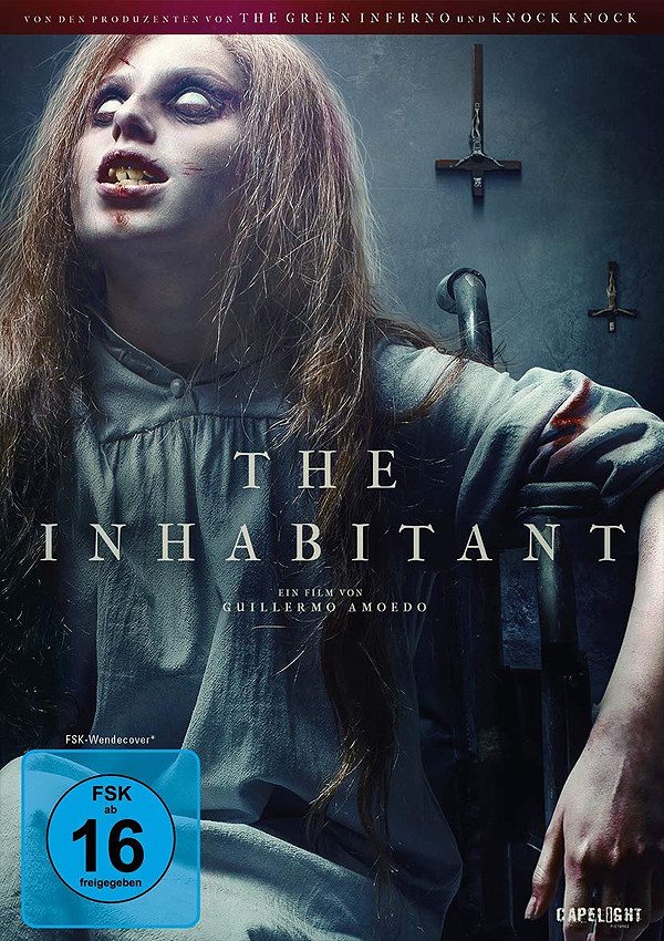 The Inhabitant - Blu-ray DVD Cover FSK 16