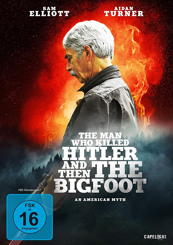 The Man who killed Hitler and then the Bigfoot - Blu-ray DVD Cover FSK 16