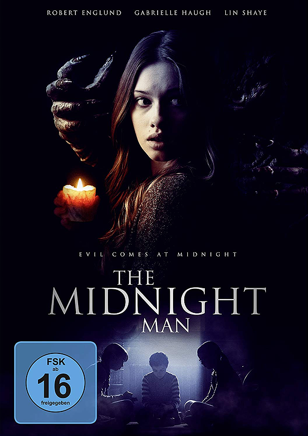 The Midnight Man - Blu-ray DVD Cover FSK 16