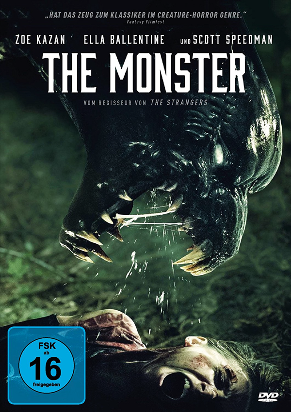 The Monster - DVD Blu-ray Cover FSK 16
