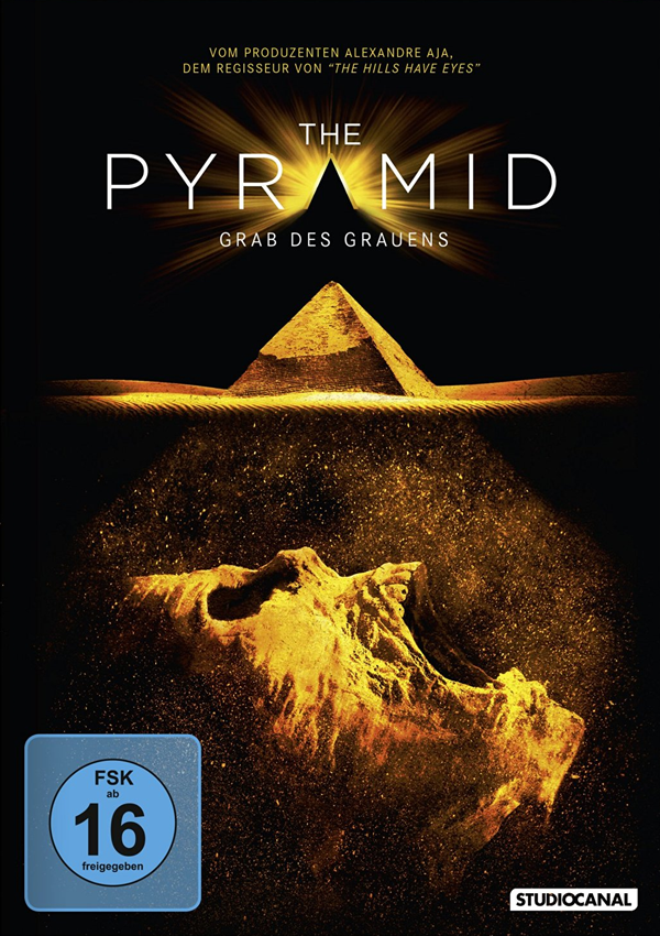 The Pyramid - DVD Blu-ray Cover FSK 16