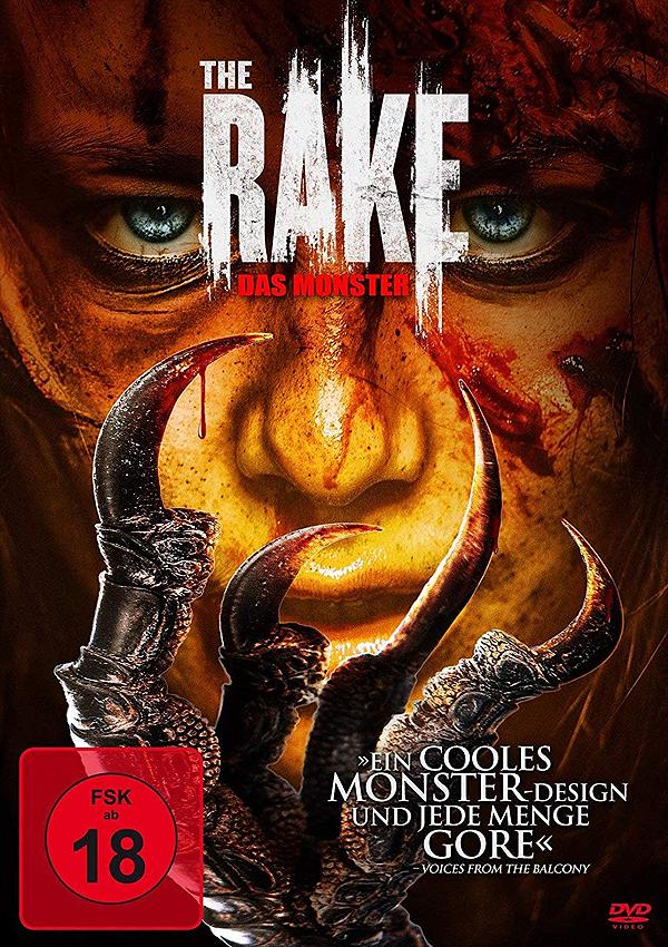 The Rake - DVD Blu-ray Cover FSK 18