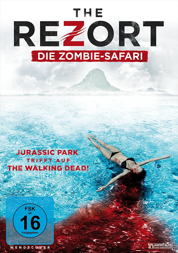 The Rezort - DVD Blu-ray Cover FSK 16