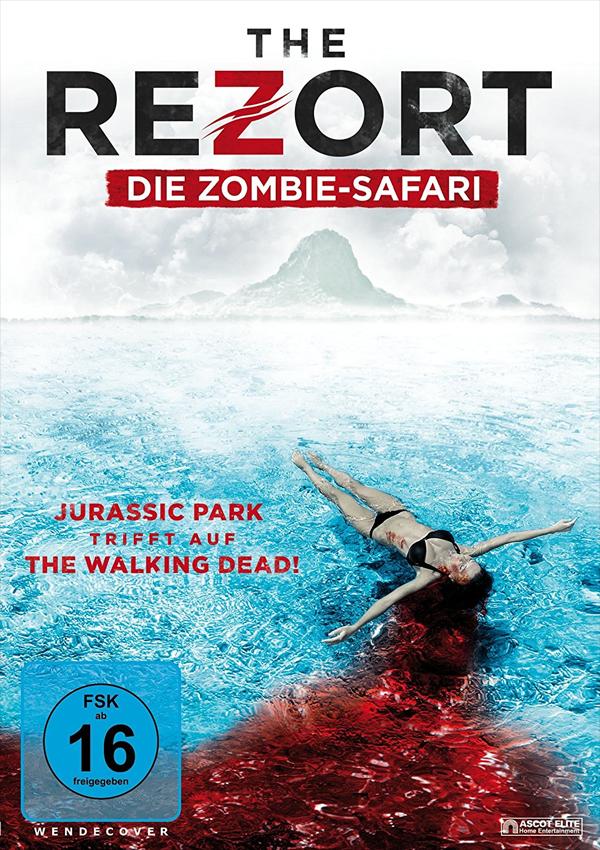 The Rezort - DVD Blu-ray Cover FSK 16