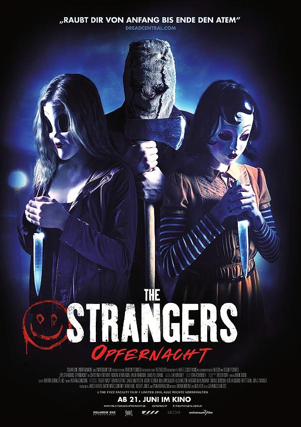 The Strangers: Opfernacht - Blu-ray DVD Cover FSK 16