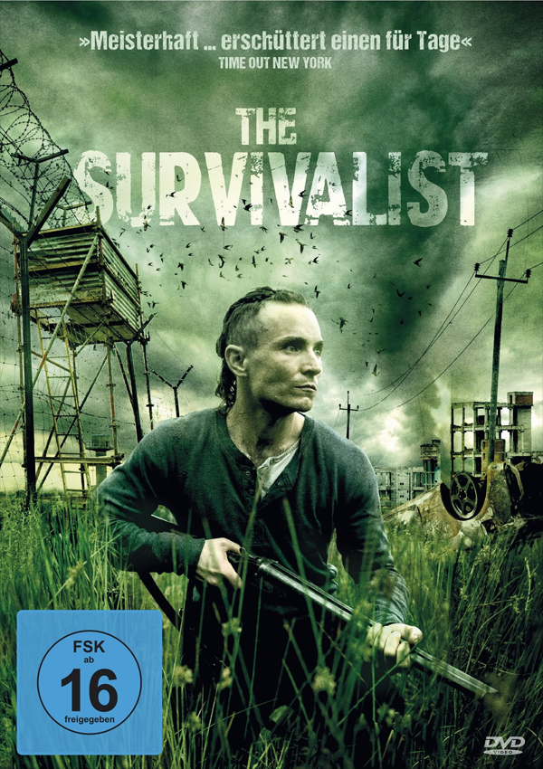 The Survivalist - DVD Blu-ray Cover FSK 16