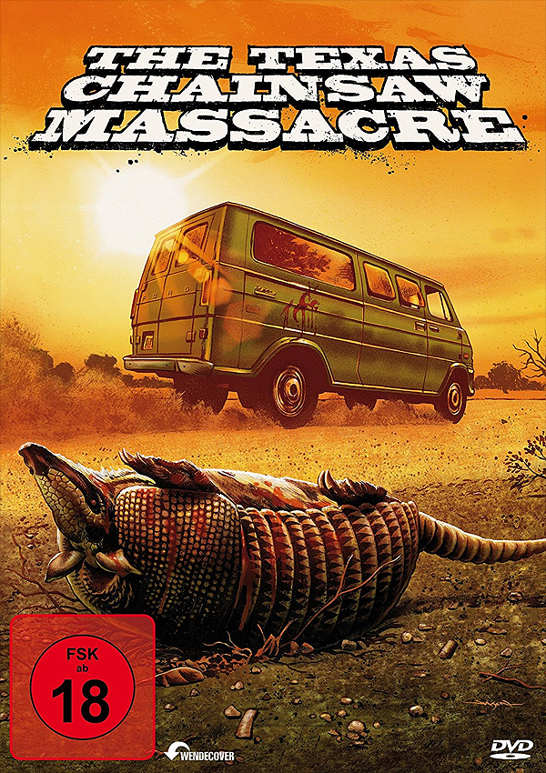 The Texas Chainsaw Massacre - Remastered Blu-ray DVD Cover FSK 18
