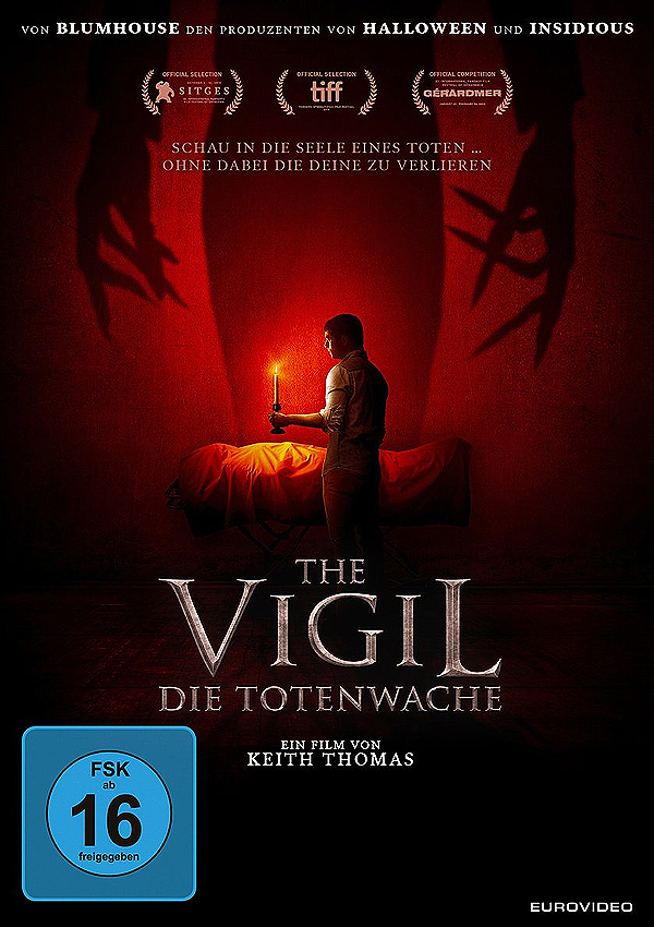 The Vigil - DVD Blu-ray Cover FSK 16