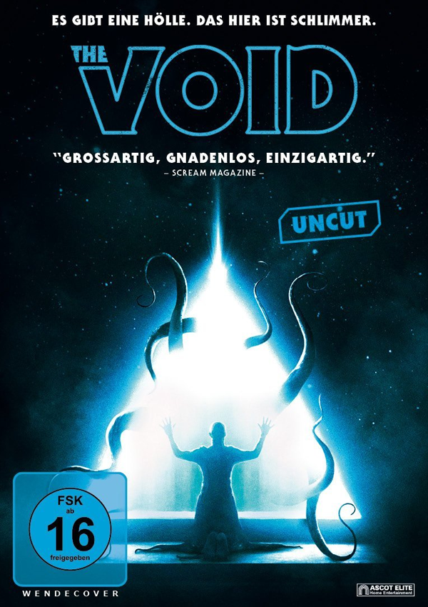 The Void - DVD Blu-ray Cover FSK 16
