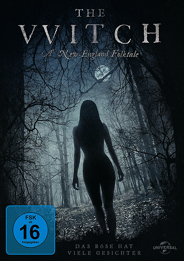 The Witch - Blu-ray DVD Cover FSK 16