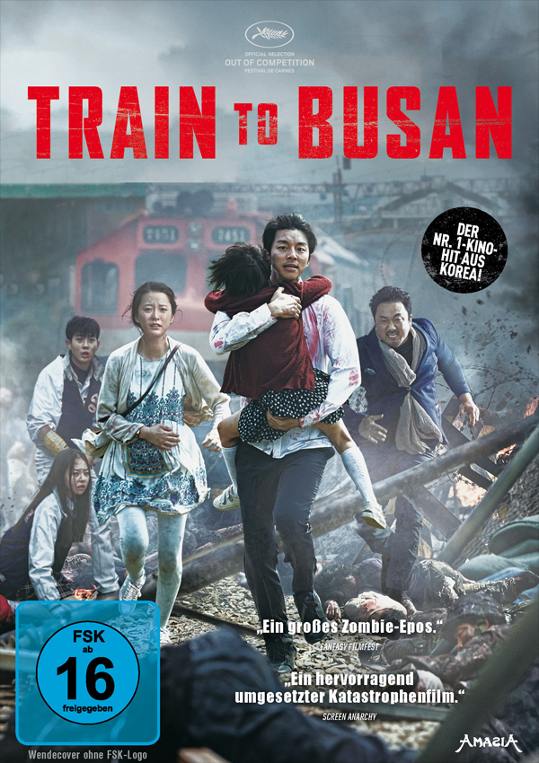 Train to Busan - DVD Blu-ray Cover FSK 16