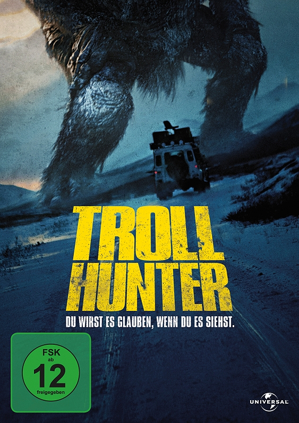 Trollhunter - DVD Blu-ray Cover FSK 12