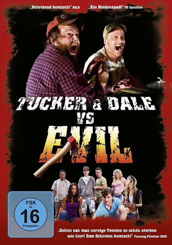 Tucker & Dale vs Evil - Blu-ray DVD Cover FSK 16