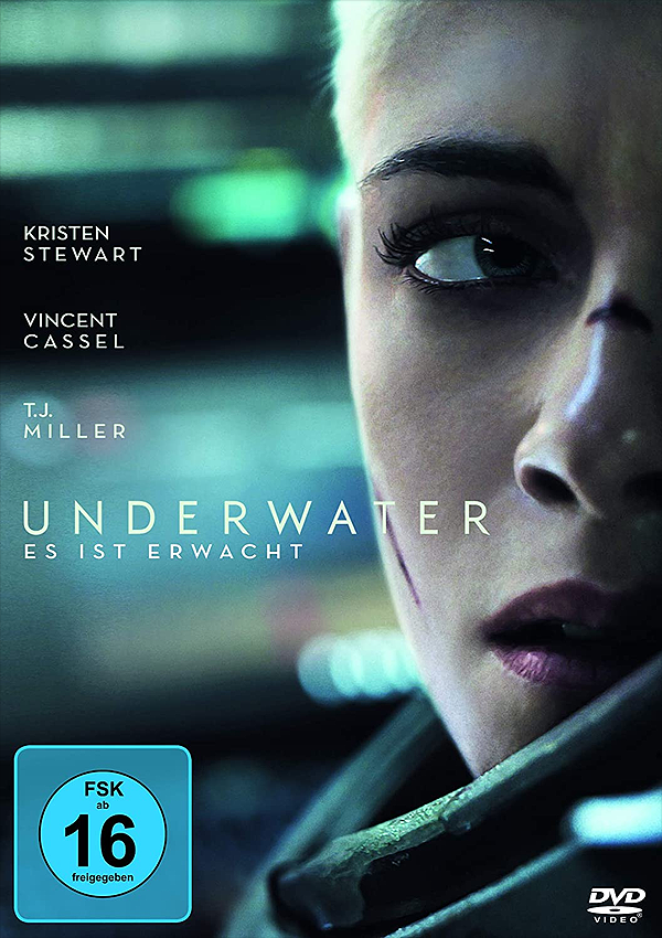 Underwater - DVD Blu-ray Cover FSK 16