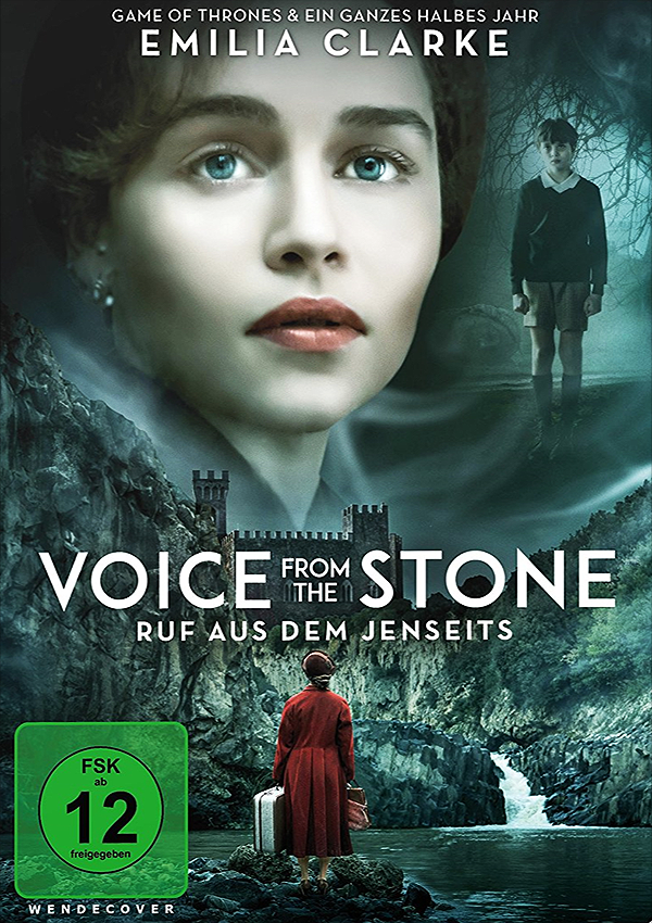 Voice from the Stone - DVD Blu-ray Cover FSK 12