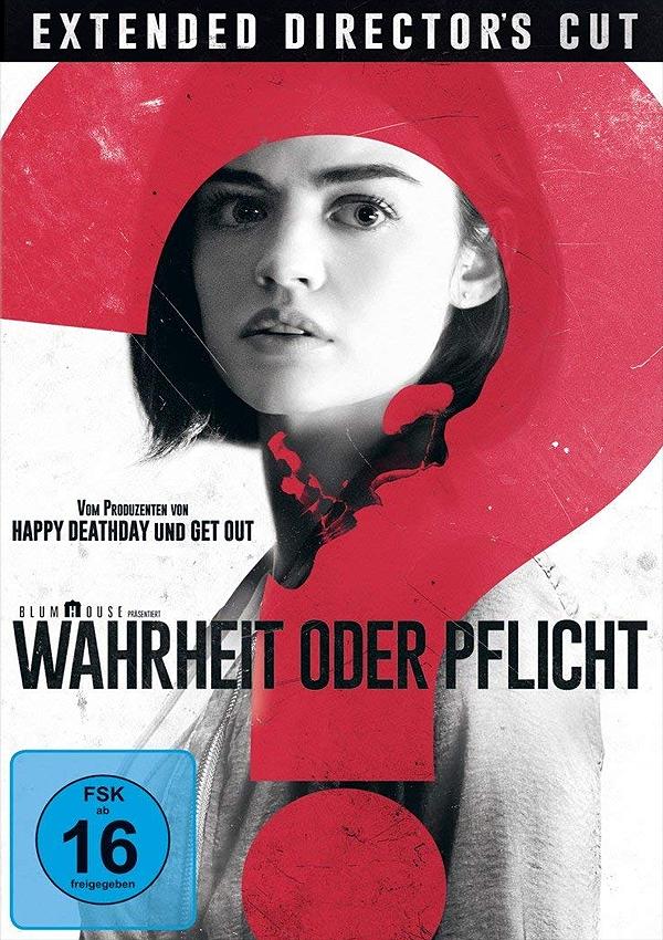Wahrheit oder Pflicht - Blu-ray DVD Cover FSK 16