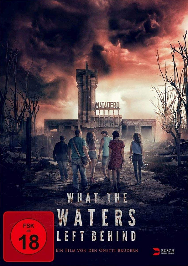 What the Waters left behind - Blu-ray DVD Cover FSK 18