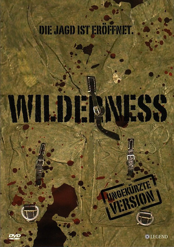 Wilderness - Blu-ray DVD Cover Spio/JK