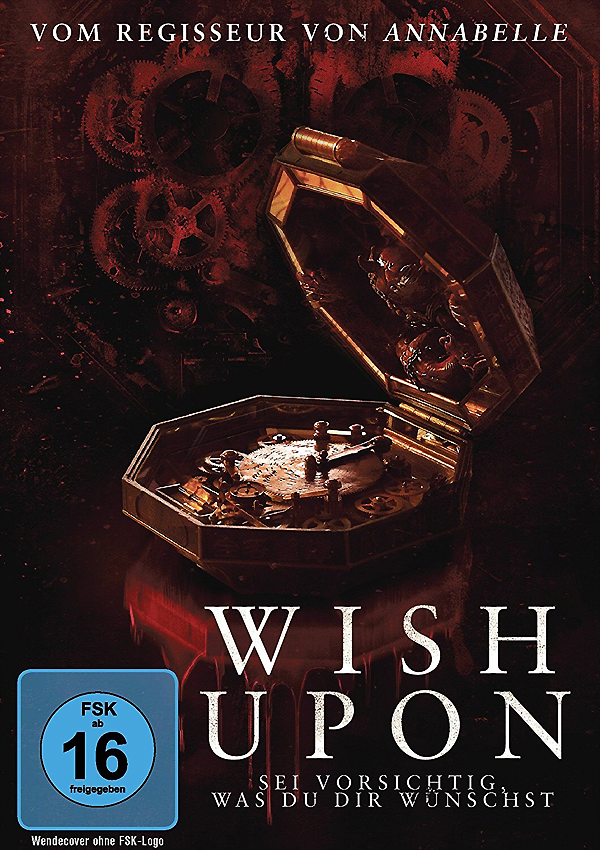 Wish Upon - Blu-ray DVD Cover FSK 17