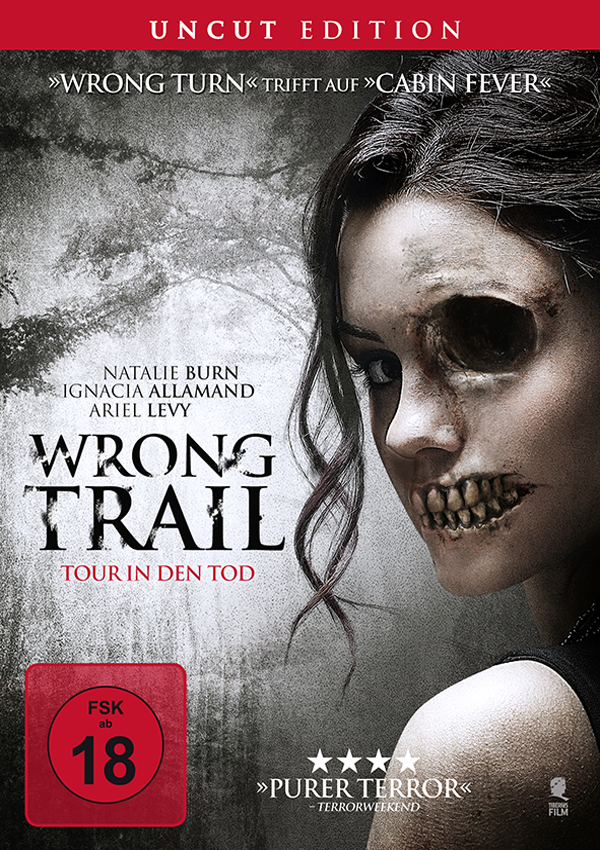 Wrong Trail - DVD Blu-ray Cover FSK 18
