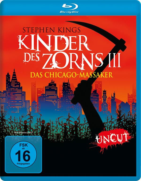 Kinder des Zorns 3 - Deindizierung, Cover, Neuveröffentlichung, Blu-ray